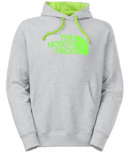 The North Face Half Dome Hoodie Heather Grey/Power Green