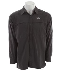 The North Face Horizon Peak L/S Shirt Asphalt Grey