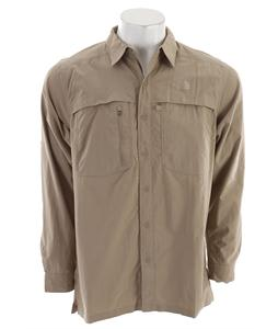 The North Face Horizon Peak L/S Shirt Dune Beige