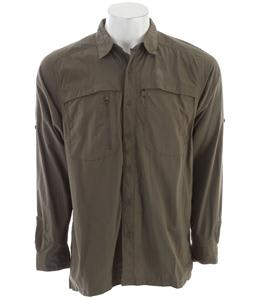 The North Face Horizon Peak L/S Shirt New Taupe Green