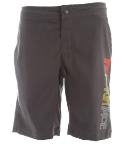 The North Face Pacific Creek Print Boardshorts Asphalt Grey