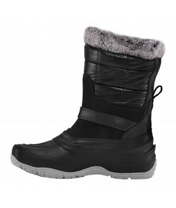 The North Face Shellista Pull On Boots Shiny TNF Black/TNF Black