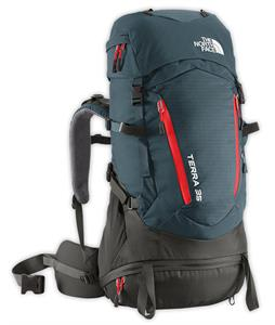 The North Face Terra 35 Backpack Conquer Blue/Fiery Red
