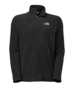 The North Face TKA 100 Glacier 1/4 Zip Fleece TNF Black