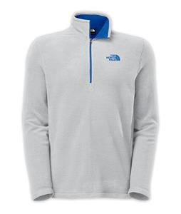 The North Face TKA 100 Glacier 1/4 Zip Fleece High Rise Grey Heather