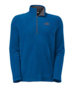 The North Face TKA 100 Glacier 1/4 Zip Fleece Snorkel Blue