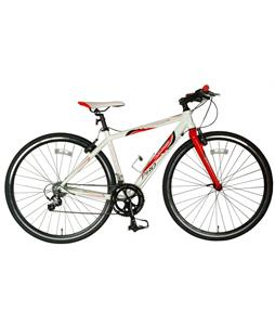 Tour De France Packleader Pro Bike White/Red 45cm