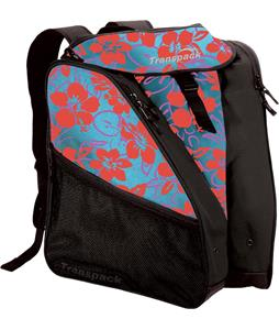 Transpack XTW Print Boot Bag Multi Floral Aqua-Pink 40L
