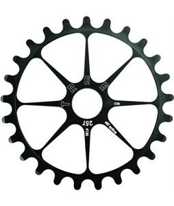 Tree 4130 Spline Drive Sprocket Black 25T