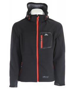 Trespass Combustion Softshell Jacket Black