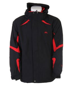 Trespass Horgan Snowboard Jacket Black