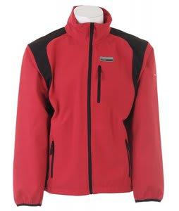 Trespass Luis Softshell Snowboard Jacket Lava