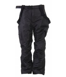 Trespass Seige Plus Snow Pants Black