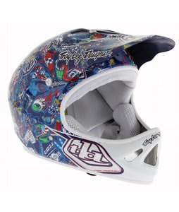 Troy Lee Designs D2 Bike Helmet History/Navy