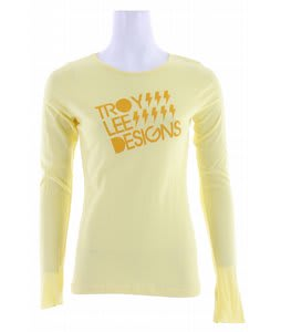 Troy Lee Designs Electric L/S Shirt Yellow