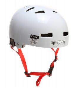 TSG Evolution Bike Helmet Gloss White