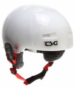 TSG Winter Kraken Snowboard Helmet Clear White