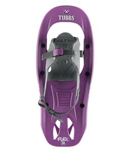 Tubbs Flex JR Snowshoes Purple/White 17in