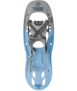Tubbs Flex Trk Snowshoe Kit Powder Blue/Gray