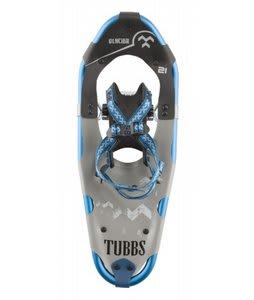 Tubbs Glacier Snowshoes Black/Blue 21