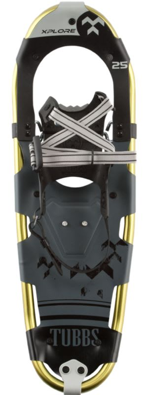 Shop for Tubbs Xplore Snowshoe Kit Gray/Green - Men's