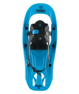 Tubbs Flex JR Snowshoes Cyan/Black 17in