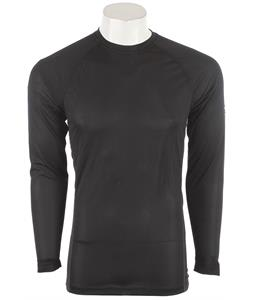 Under Armour Base 1.0 Crew Baselayer Top Black/Battleship/School Bus