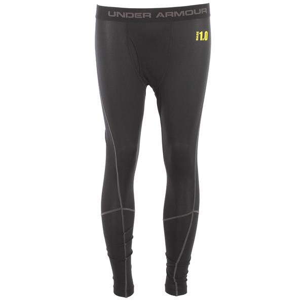 Under Armour Base 1.0 Legging Baselayer Bottom Black/Battleship/School Bus
