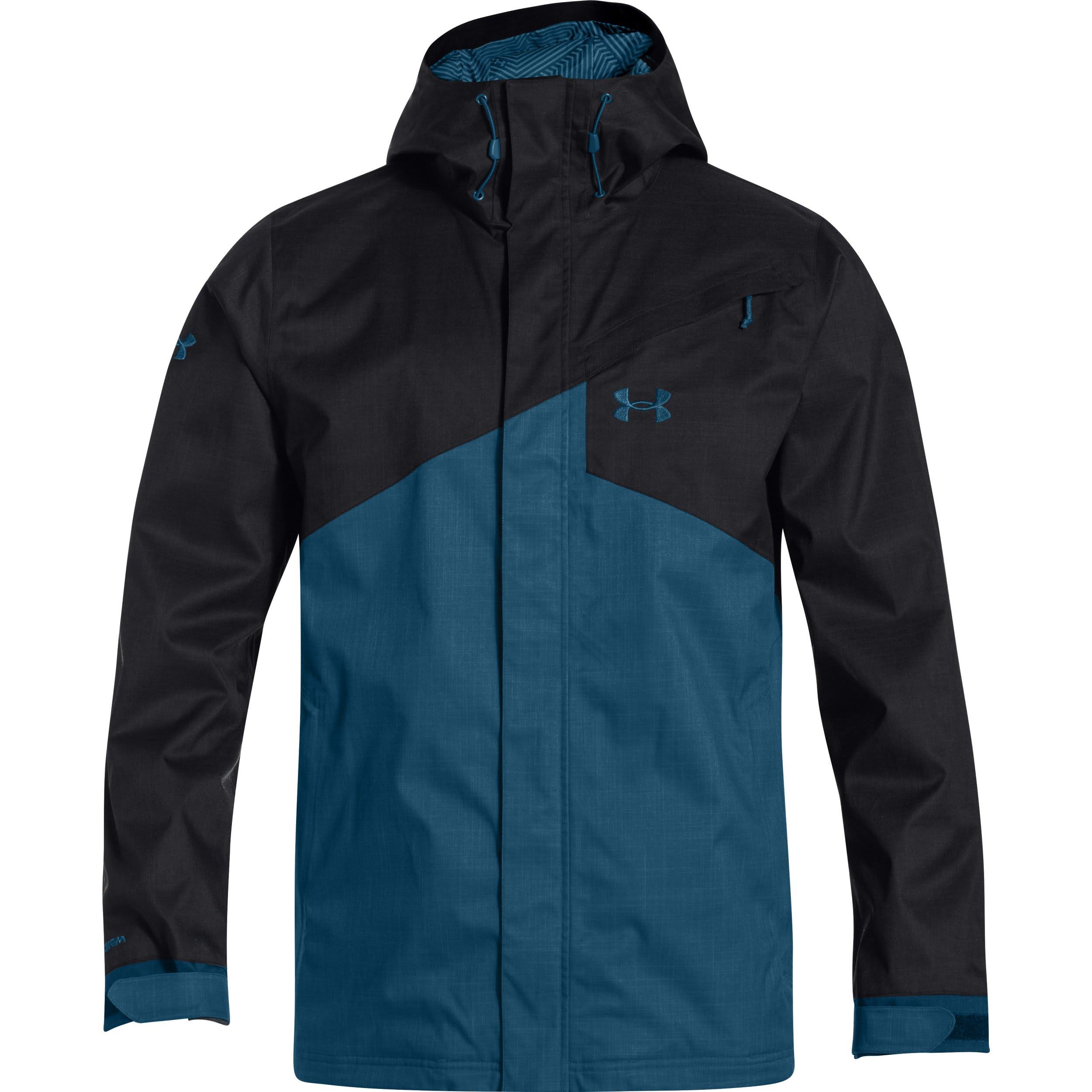 blue under armour jacket