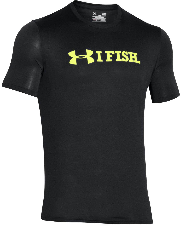 Under Armour I Fish Tech T-Shirt ua3ift04bk16zz-under-armour-t-shirts