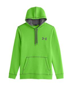 Under Armour Rival Cotton Hoodie Gecko Green/Graphite