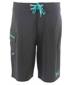 Under Armour Seagrit Boardshorts Black/Jade River