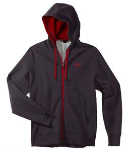 Under Armour Storm Transit Full-Zip Hoodie Carbon Heather/Red
