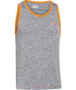 Under Armour Tech Tank Graphite/Blaze Orange