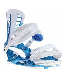 Union Atlas Snowboard Bindings Metallic Blue