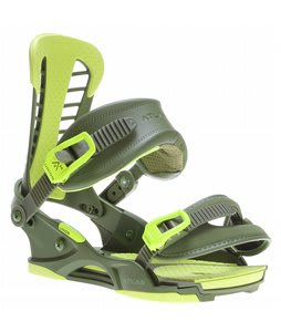 Union Atlas Snowboard Bindings Matte Green