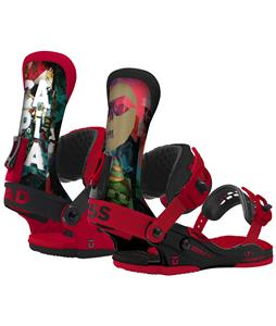 Union Capita Bad Ass Snowboard Bindings Black/Red