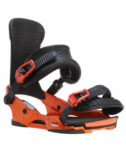 Union Charger Snowboard Bindings Orange