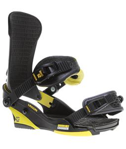 Union Charger Snowboard Bindings Black/Yellow