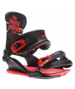 Union Contact Snowboard Bindings Blood Splatter