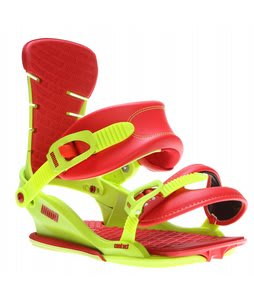 Union Contact Snowboard Bindings Green/Red