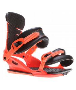 Union Contact Snowboard Bindings Orange/Black