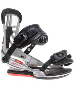 Union Contact Pro Snowboard Bindings Chrome