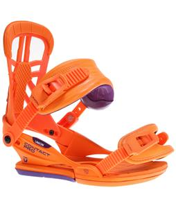 Union Contact Pro Snowboard Bindings Fluorescent Orange