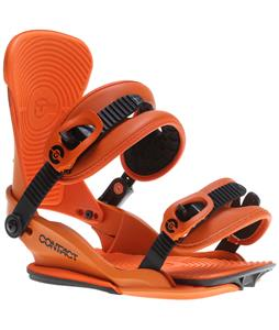 Union Contact Snowboard Bindings Orange