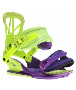 Union Contact Pro Snowboard Bindings Purple/Green