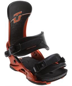 Union Factory Snowboard Bindings Orange