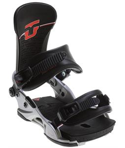 Union Factory Snowboard Bindings Silver