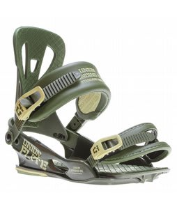 Union Flite Snowboard Bindings Army