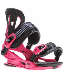 Union Flite Lady Snowboard Bindings Magenta